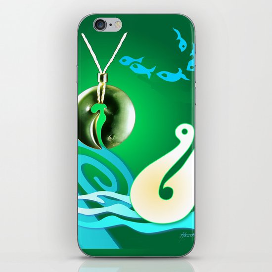 Go Fishing - Hi Ika iPhone Skin