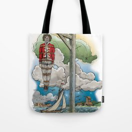 Captain Kiddless Variant Tote Bag