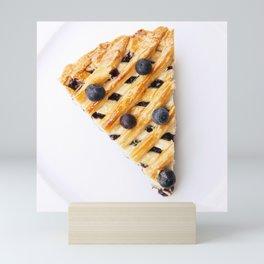 Blueberry Pie Mini Art Print