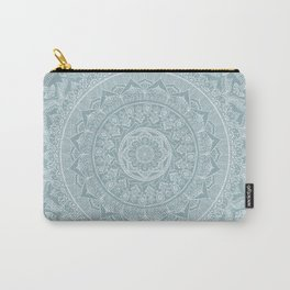 Mandala - Soft turquoise Carry-All Pouch