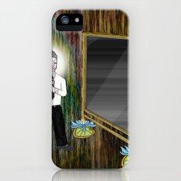 The Empty Mirror iPhone Case