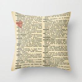 Valentine's Day (female version) Throw Pillow