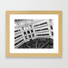 The State Library of Victoria Framed Art Print