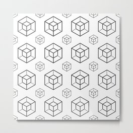 Enigma - Crypto Fashion Art (Large) Metal Print