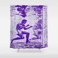 ali Shower Curtains featuring Ali  by beoriginal
