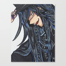 The Undertaker (Black Butler) Canvas Print