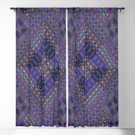 geometric ensemble Blackout Curtain