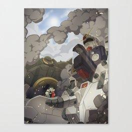 08th ms team: secret love of two enemies Canvas Print
