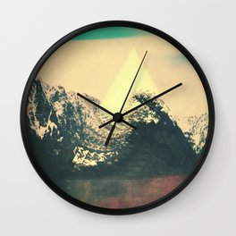 Trrangle Wall Clock