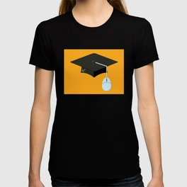 More Clicks, Fewer Bricks: The Lecture Hall Is Obsolete T-shirt