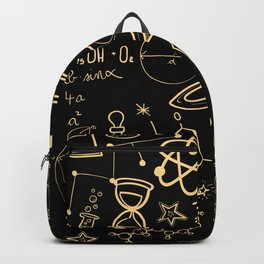 Physics Math Chemistry Biology Astronomy I Teacher Professor Parting Gift Backpack