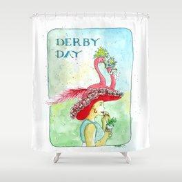 Derby Day Shower Curtain
