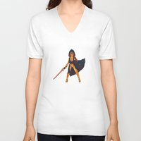 sith V-neck T-shirts featuring Sith reepio by Alon Richter