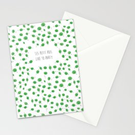 Party Peas Stationery Cards