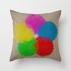Krylon (Aged) Throw Pillow