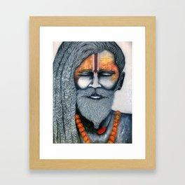 Holy Man Framed Art Print