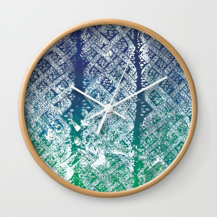 Knitwork II Wall Clock