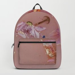 Harry Styles - pink flowers album Backpack