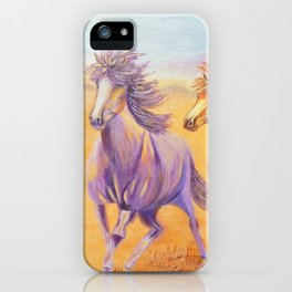 Free Spirits | Esprits Libres iPhone Case