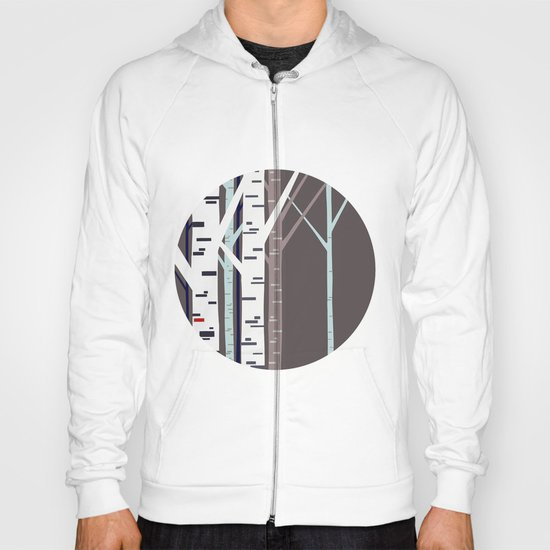 birch trees Hoody