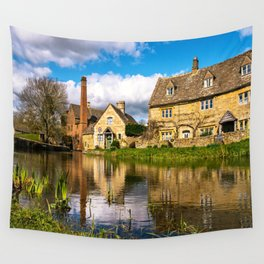 The Old Mill  Wall Tapestry
