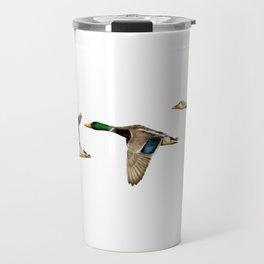 Flying Mallards Travel Mug