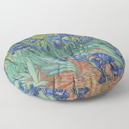 Vincent van Gogh - Irises Floor Pillow