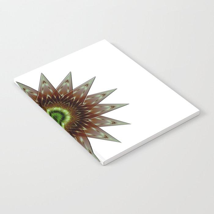 Fractal Wind Rose Notebook