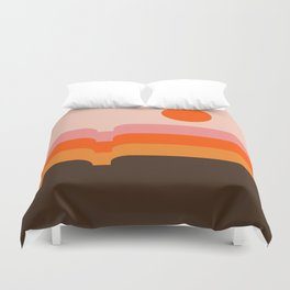 Honey Hills Duvet Cover