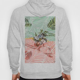 Ying Yang Couple in Bed Hoody