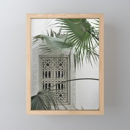 ORIENT garden dreams Framed Mini Art Print