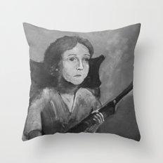 Loretta. Throw Pillow