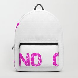 Fitness No Pain No Cake Burning Calories Backpack