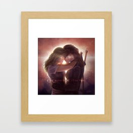 Always Be With You Framed Art Print