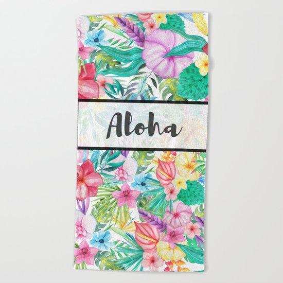 Aloha Beach Towel