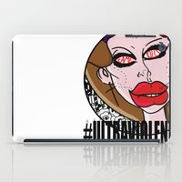 ultraviolence iPad Cases featuring Fame Kills  by Luc Étrier