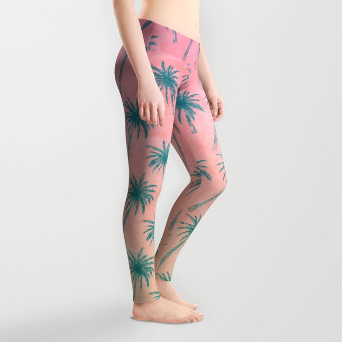 Palm Tree Pattern Leggings