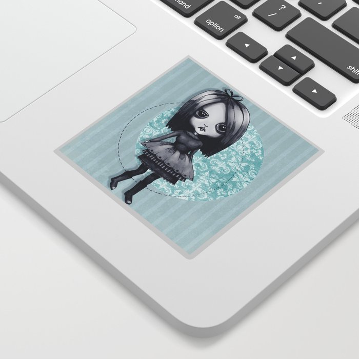Gothy Girl Sticker