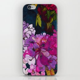 Purple Globes of Rhododendron  iPhone Skin