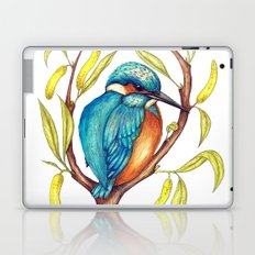 Kingfisher on Willow Laptop & iPad Skin