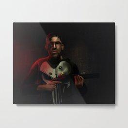 Frank Castle Metal Print