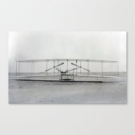 The Wright Brother's aeroplane Canvas Print