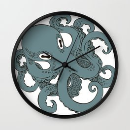 le poulpe Wall Clock
