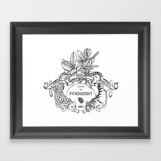 Leo & Tiger Framed Art Print