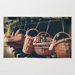 Wicker Baskets Rug