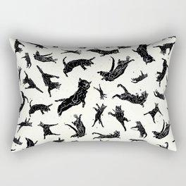 Shadow Cats Space Rectangular Pillow