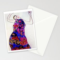 The Embrace Reimagined By James Thomas Ryan Stationery Cards