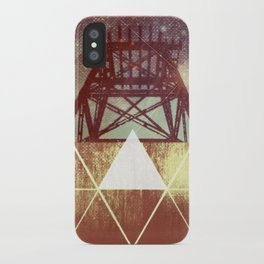 Elemental Framework iPhone Case