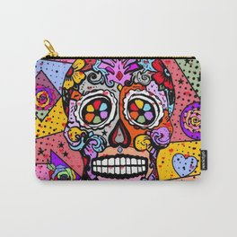 Los muertos Popart by Nico Bielow Carry-All Pouch