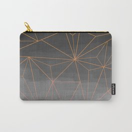 grey gradient pattern Carry-All Pouch